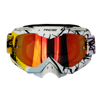 GOGGLE RIDE R-1016 ESTAMPADO AMARILLO