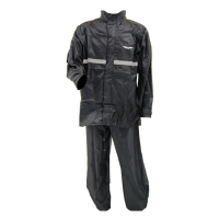 IMPERMEABLE WINDSOR, 1 CAPA NEGRO