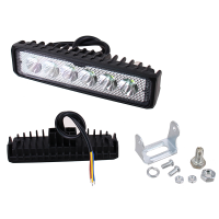 FARO AUXILIAR LED EVOLUTION, CON ESTROBO 1X4""